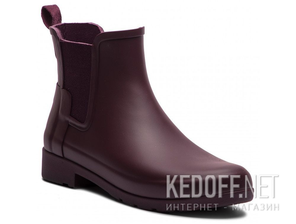 Жіночі гумові чоботи Hunter W Org Refined Chelsea WFS1017RMA OXBLOOD