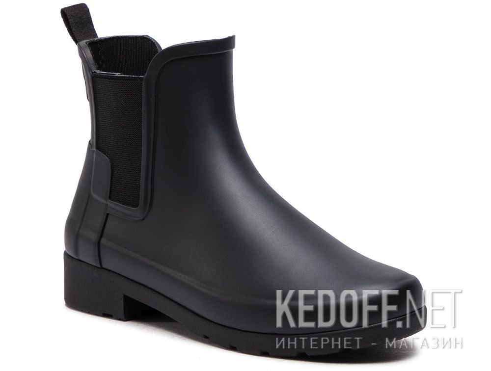Жіночі гумові чоботи Hunter W Org Refined Chelsea WFS1017RMA BLACK