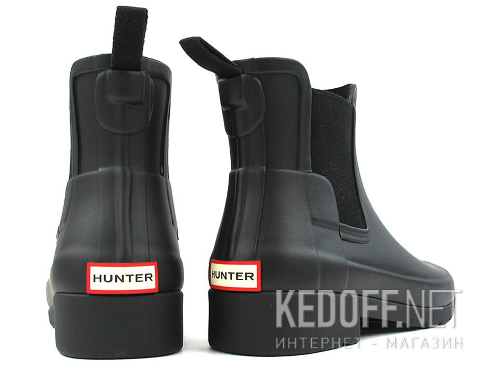 Цены на Женские резиновые сапоги Hunter W Org Refined Chelsea WFS1017RMA BLACK