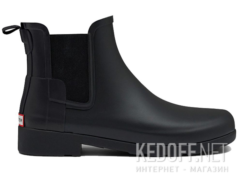 Жіночі гумові чоботи Hunter W Org Refined Chelsea WFS1017RMA BLACK купить Киев