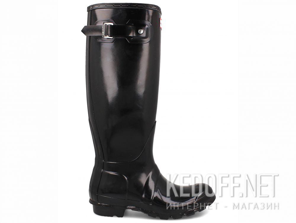 Women s rain boots Hunter Women s Original Tall Gloss Black WFT1000RGL BLACK  купить Киев 366884d539