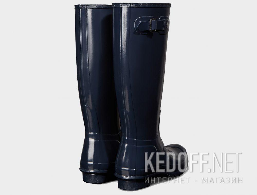 e3eb6106f3b2 Women s rain boots Hunter Women s Original Tall Gloss Navy WFT1000RGL NAVY  описание