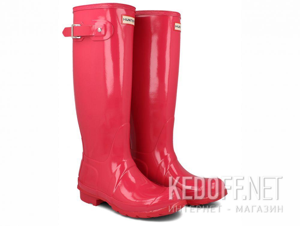 Женские резиновые сапоги Hunter Women's Original Tall Gloss WFT1000RGL BRIGHT PINK купить Украина