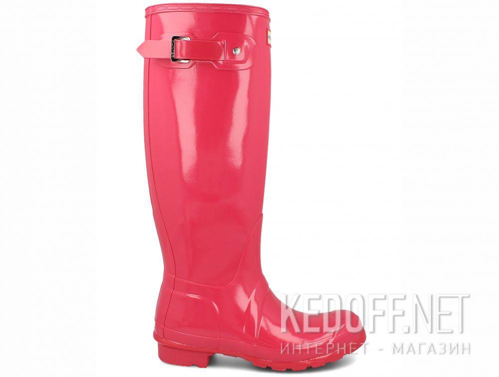 Женские резиновые сапоги Hunter Women's Original Tall Gloss WFT1000RGL BRIGHT PINK купить Киев