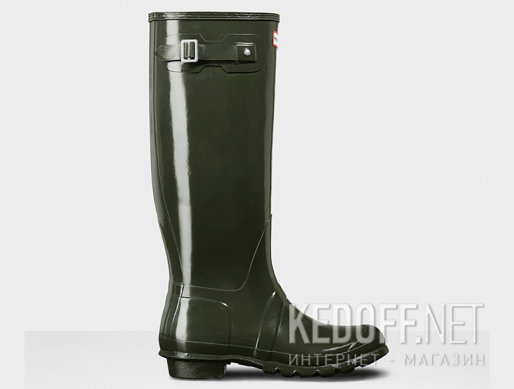 Жіночі гумові чоботи Hunter Women's Original Tall Gloss WFT1000RGL HUNTER GREEN купить Киев