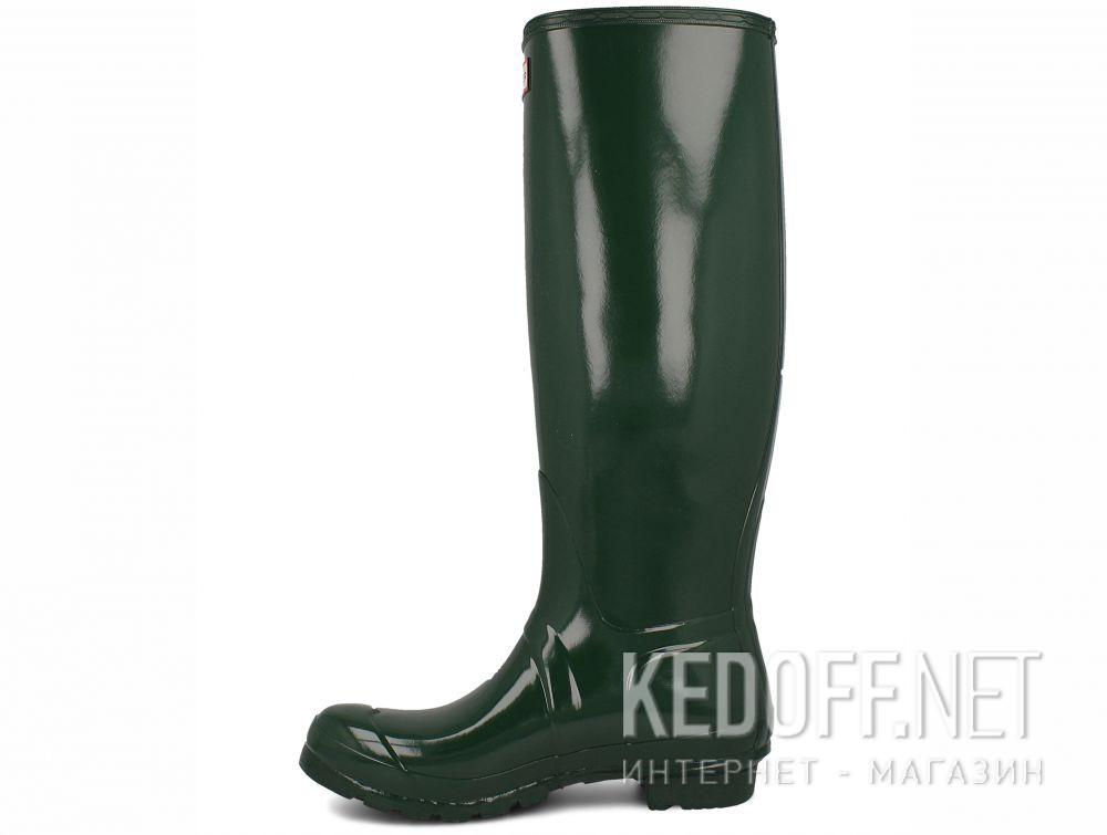 Оригинальные Жіночі гумові чоботи Hunter Women's Original Tall Gloss WFT1000RGL HUNTER GREEN