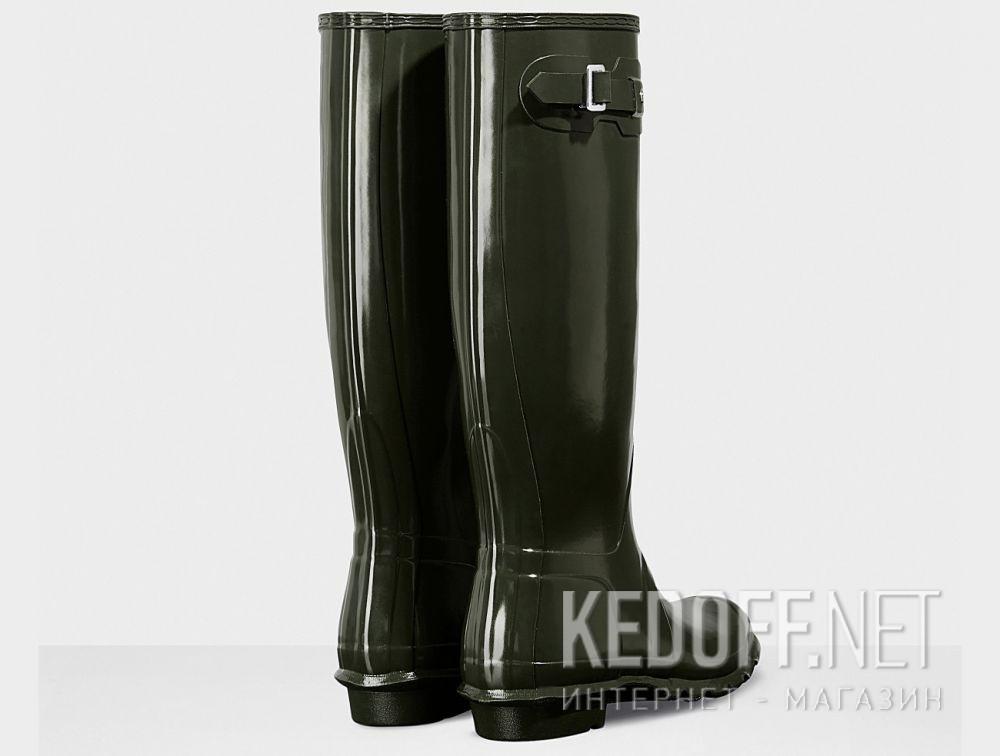 Жіночі гумові чоботи Hunter Women's Original Tall Gloss WFT1000RGL HUNTER GREEN описание
