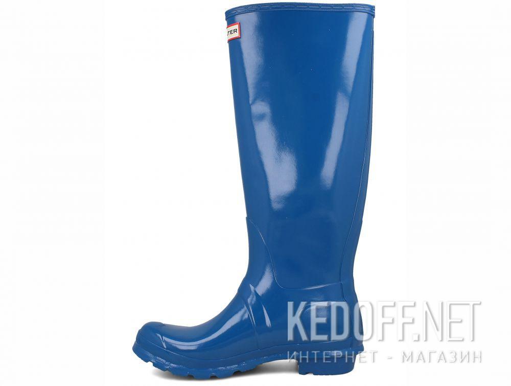 Оригинальные Женские резиновые сапоги Hunter Women's Original Tall Gloss WFT1000RGL OCEAN BLUE