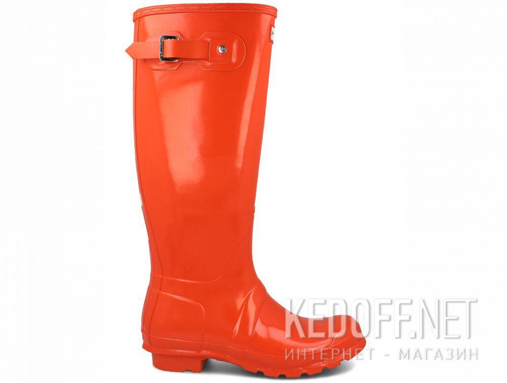 Жіночі гумові чоботи Hunter Women's Original Tall Gloss WFT1000RGL ORANGE купить Киев
