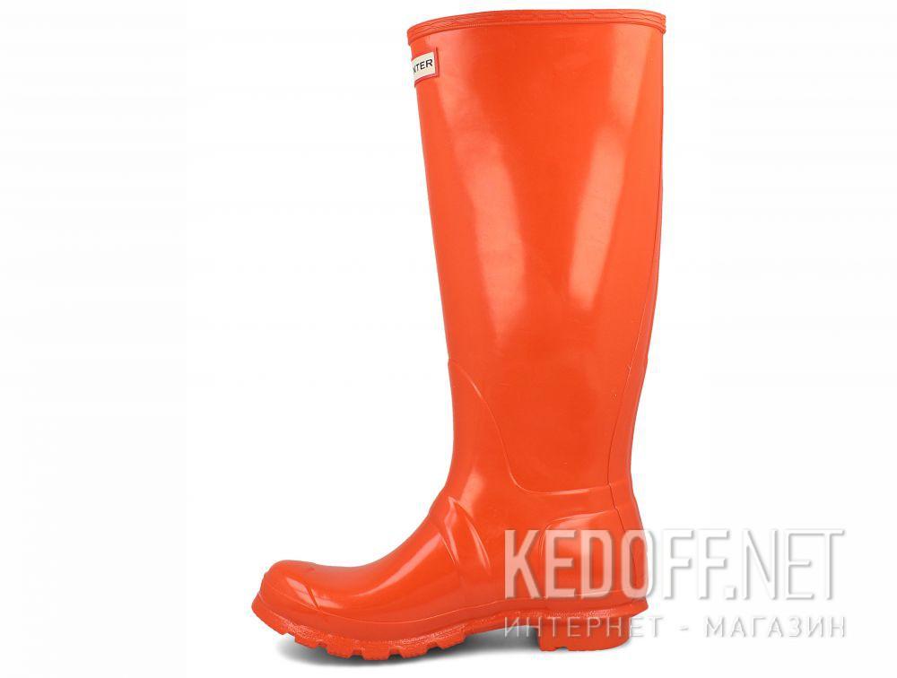Оригинальные Жіночі гумові чоботи Hunter Women's Original Tall Gloss WFT1000RGL ORANGE