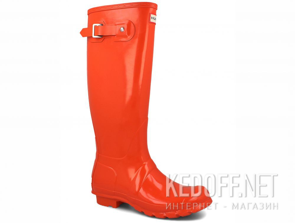 Женские резиновые сапоги Hunter Women's Original Tall Gloss WFT1000RGL ORANGE