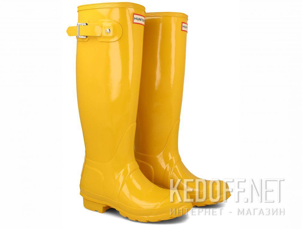 Women's rain boots Hunter Women's Original Tall Gloss Yellow WFT1000RGL купить Украина
