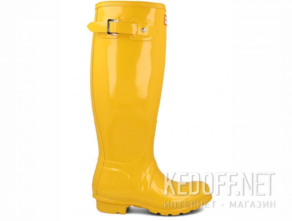Women's rain boots Hunter Women's Original Tall Gloss Yellow WFT1000RGL купить Киев