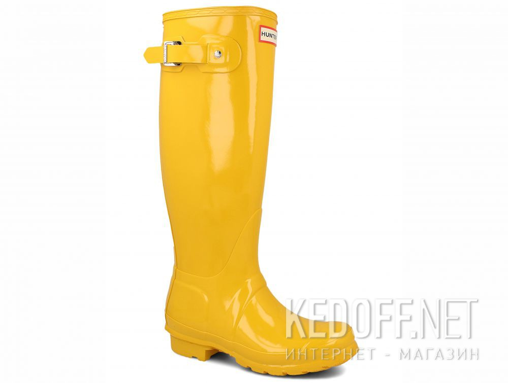 Add to cart Women's rain boots Hunter Women's Original Tall Gloss Yellow WFT1000RGL