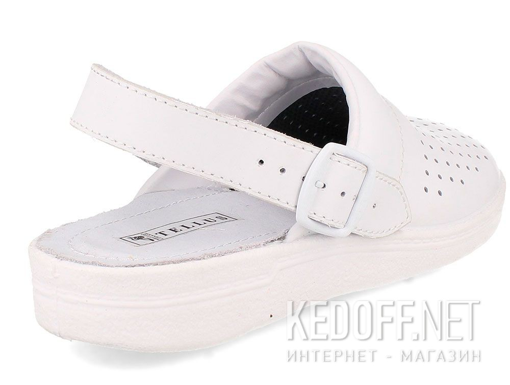 Кожаная докторская обувь Forester Sanitar 0404-13 White купить Украина