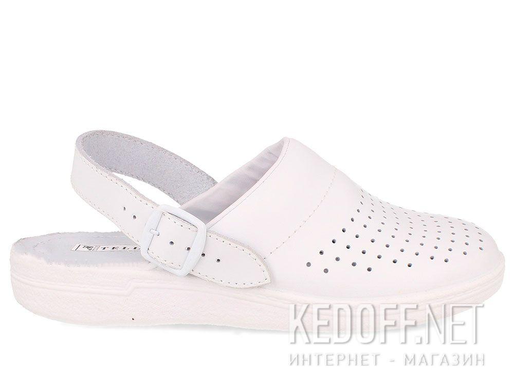 Кожаная докторская обувь Forester Sanitar 0404-13 White купить Киев