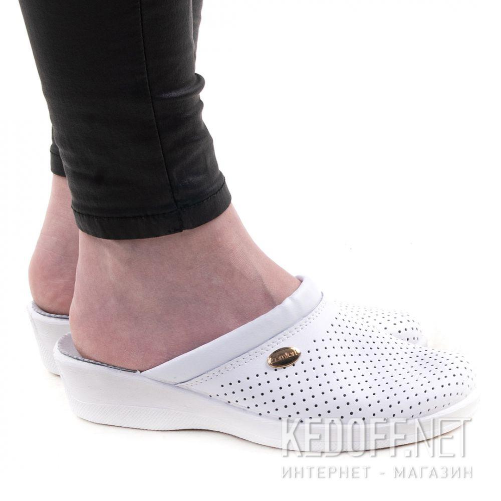 Оригинальные Женская мед обувь Forester Sanitar 510806-13 White Classic
