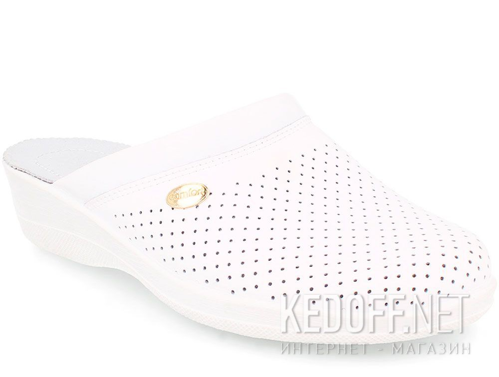 Add to cart Women's clogs Forester Sanitar 510806-13 White Classic