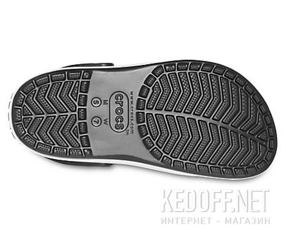 Жіночі сандалі Crocs Crocband Platform Clog Black/White 205434-066 описание