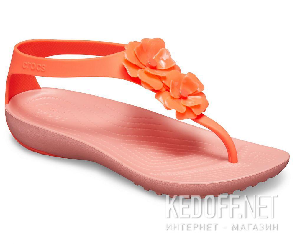 Купить Женские сандалии Crocs Serena Embellish Flip W Bright Coral/Melone 205600-6PT