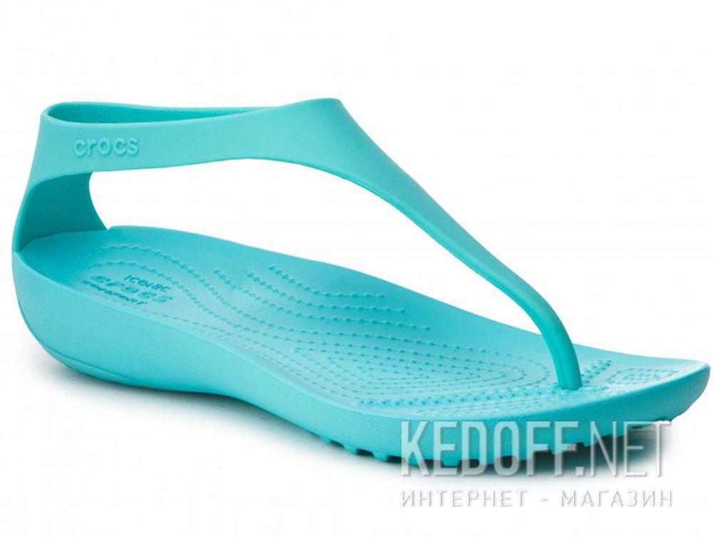 c4fe6bc1 Женские сандалии Crocs Serena Flip W 205468-40M в магазине обуви ...