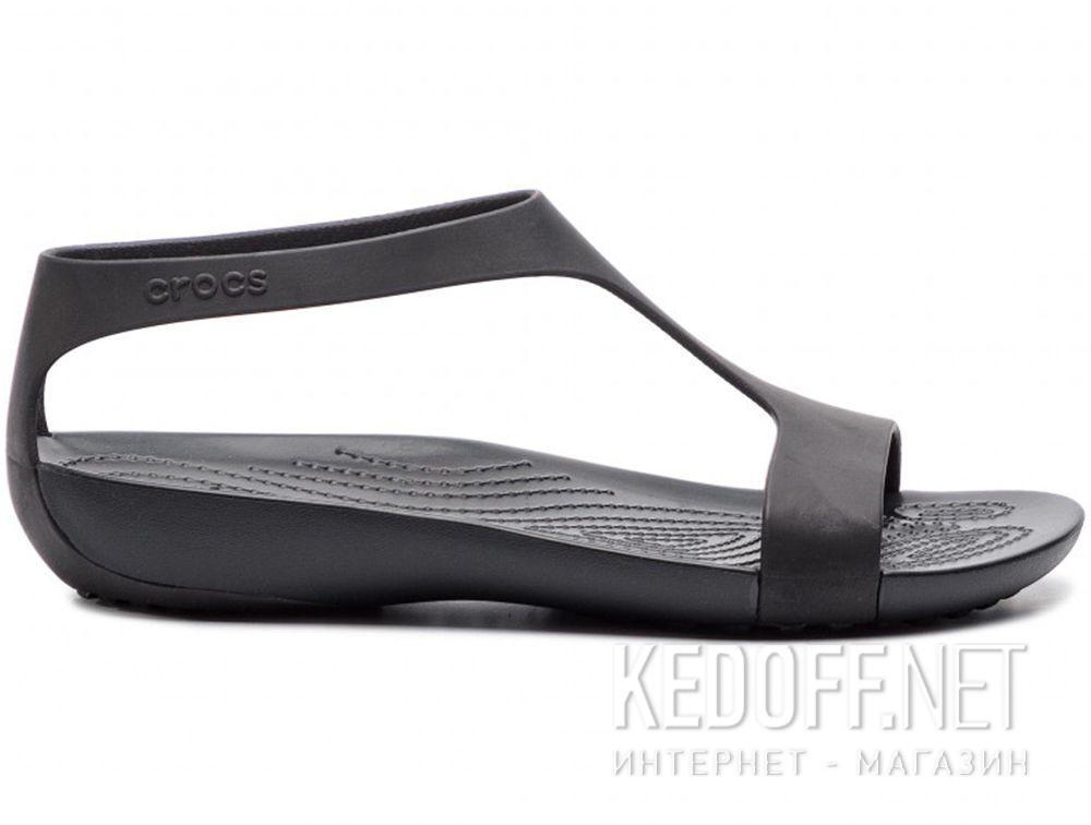 5f485c63f99e Sandals Crocs women s Serena Sandal W 205469-060 Black Black купить Украина