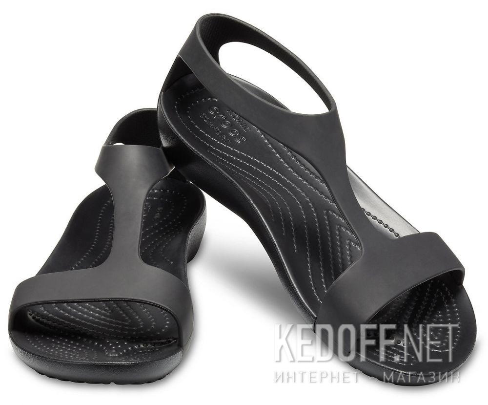 b034b9582bf99 Kupić Damskie sandały Crocs Serena Sandal W 205469-060 Black Black w ...