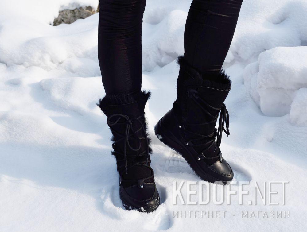 Жіночі зимові чоботи Forester Scandinavia 6329-4-27 Made in Europe доставка по Украине