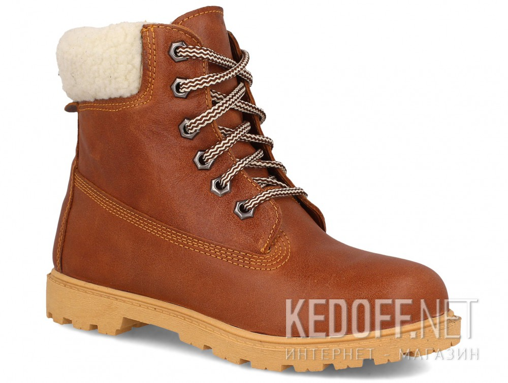 Купить Ботинки Forester Light brown Leather 0610-74