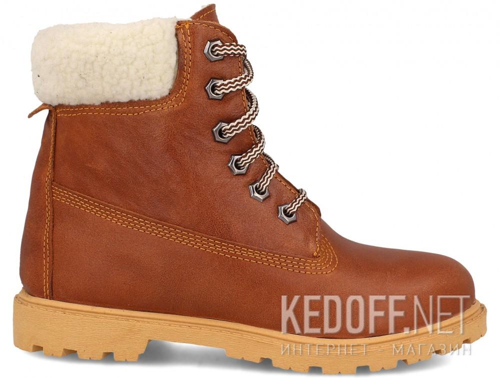 Ботинки Forester Light brown Leather 0610-74  купить Украина