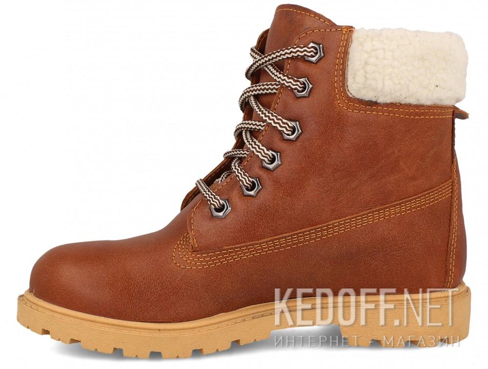 Ботинки Forester Light brown Leather 0610-74  купить Киев