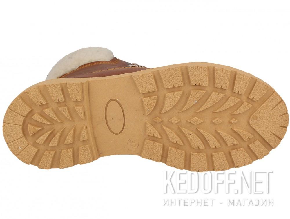 Ботинки Forester Light brown Leather 0610-74  описание