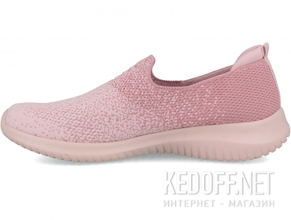 Женские слипоны Skechers Ultra Flex 13123-PNK купить Киев