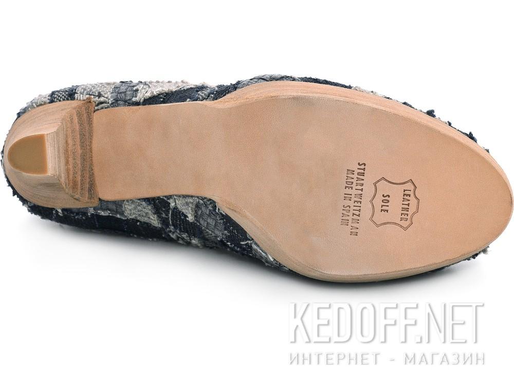Женские туфли Stuart Weitzman 14491   (синий) купить Киев