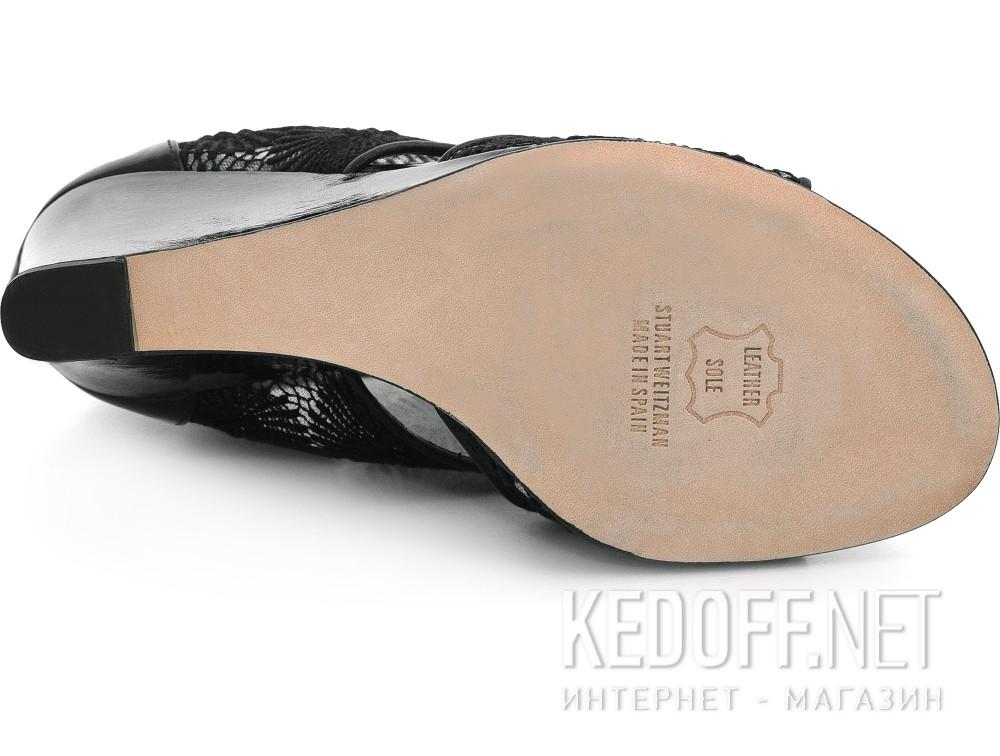 Женские босоножки Stuart Weitzman 62756   (чёрный) купить Киев