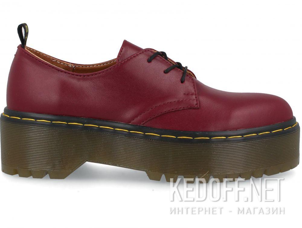 Жіночі туфлі Forester Platform 1466-47 Bordeaux купити Україна