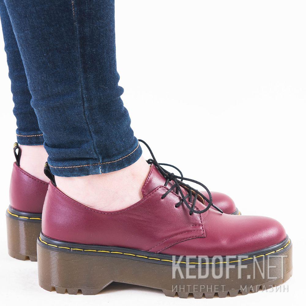 Доставка Жіночі туфлі Forester Platform 1466-47 Bordeaux