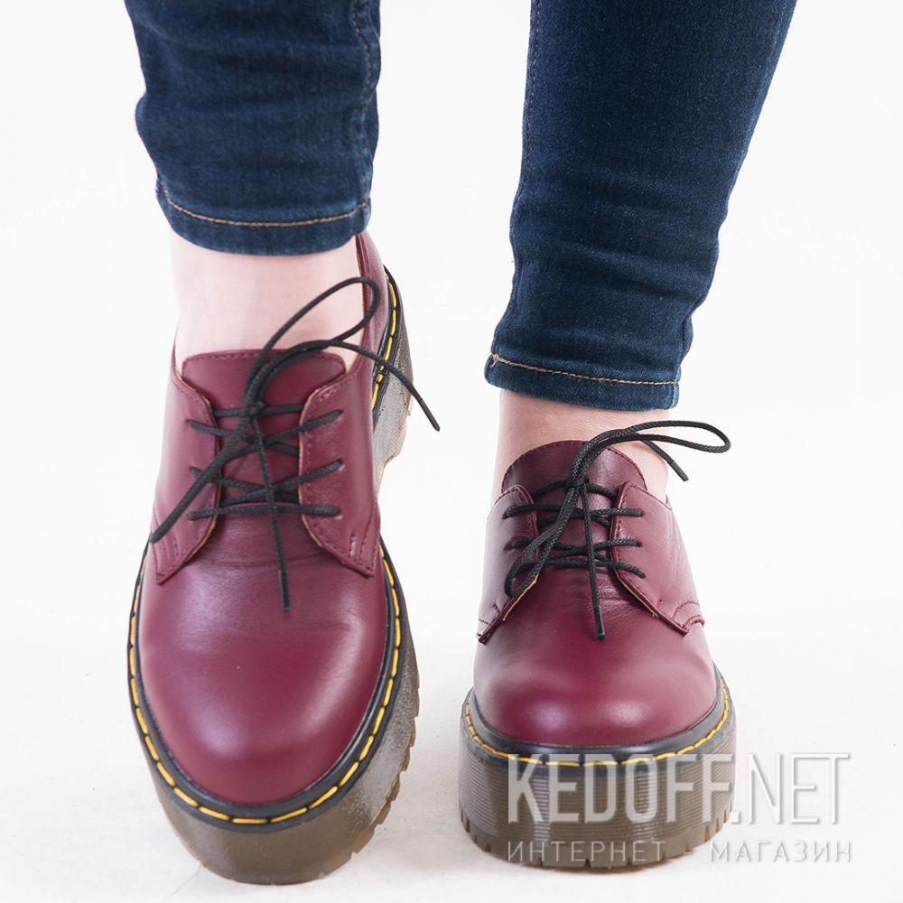 Цены на Жіночі туфлі Forester Platform 1466-47 Bordeaux