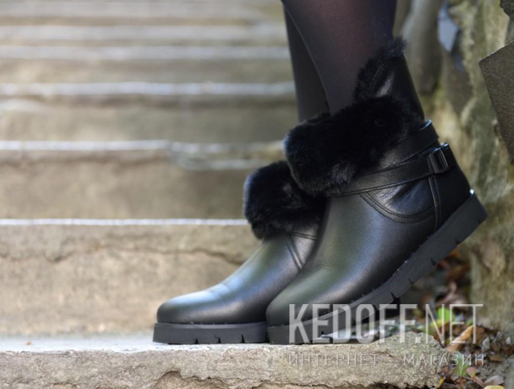 Женские зимние ботиночки Forester 1522-27 доставка по Украине