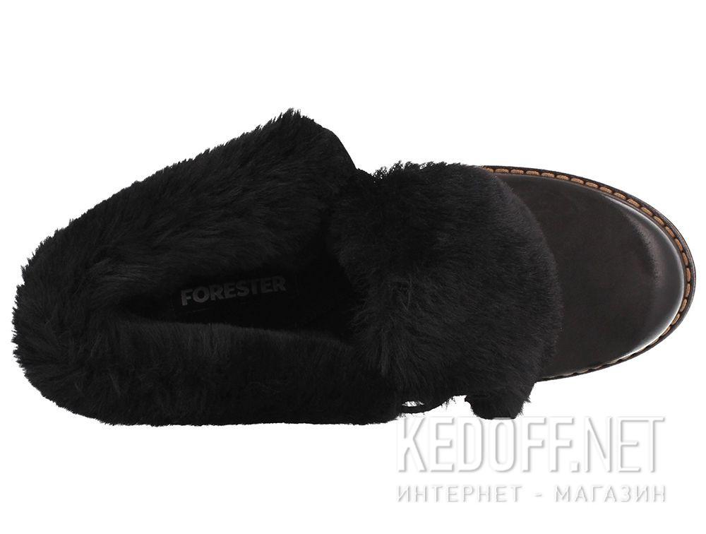 Женские зимние ботиночки Forester 8361-27 описание