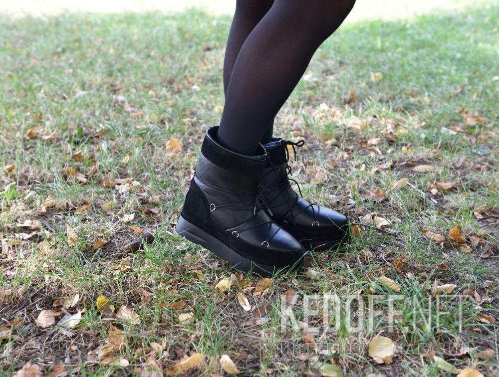 Доставка Женские зимние сапожки Forester Cool Boot 428-015-27