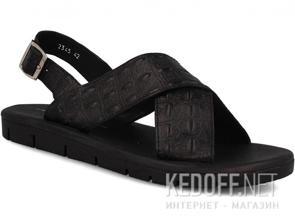 Купить Мужские босоножки John Richardo 2345-1   (чёрный)