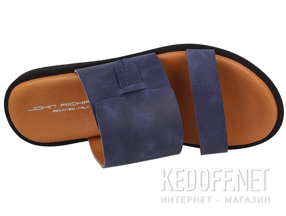 Оригинальные Мужские сандалии John Richardo 2355-1   (синий)