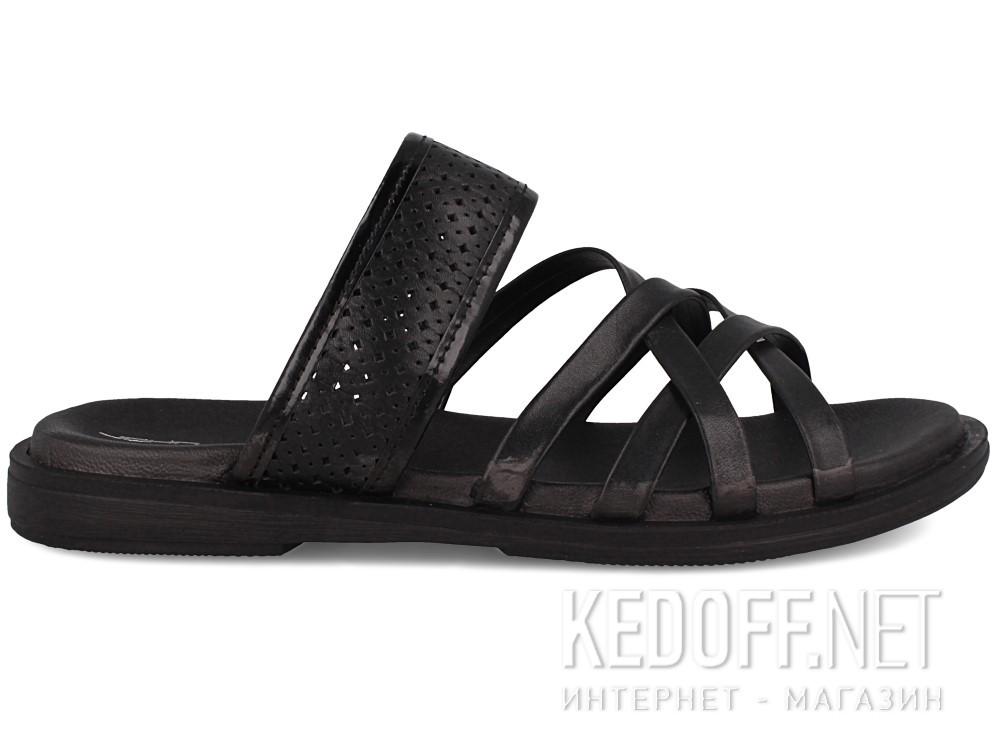 Мужские сандалии John Richardo 952-10   (чёрный) купить Украина