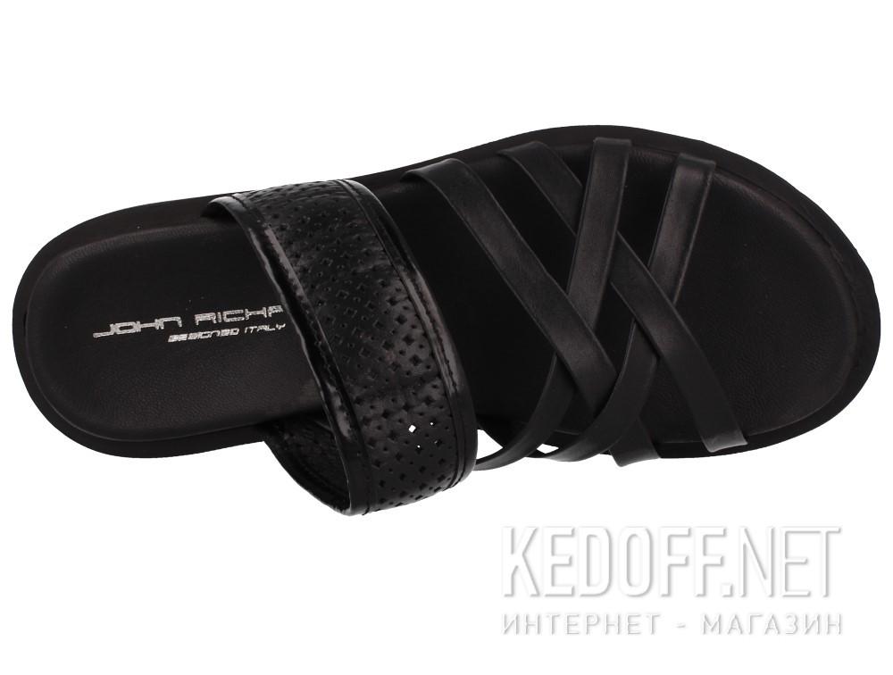 Оригинальные Мужские сандалии John Richardo 952-10   (чёрный)