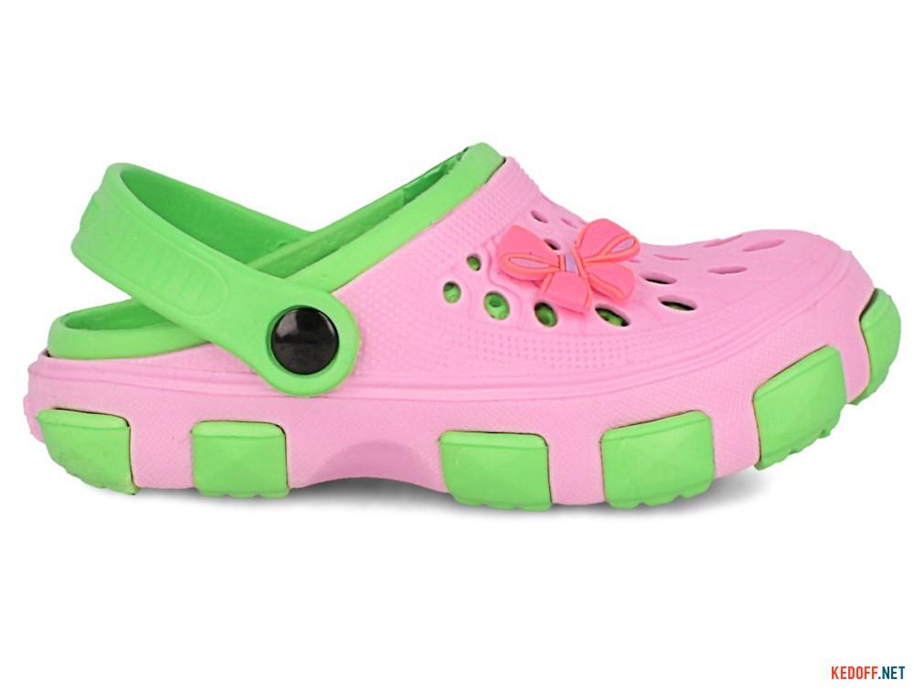 Кроксы Jose Amorales 116123 унисекс   (розовый/зеленый) купить Украина