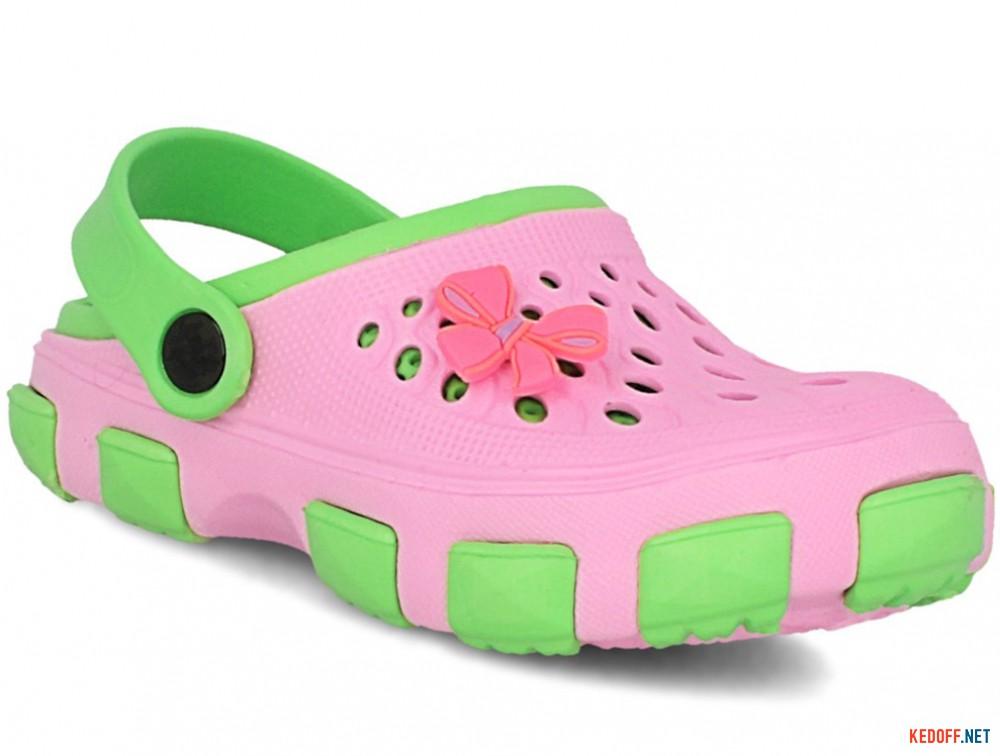 Купить Кроксы Jose Amorales 116123 унисекс   (розовый/зеленый)