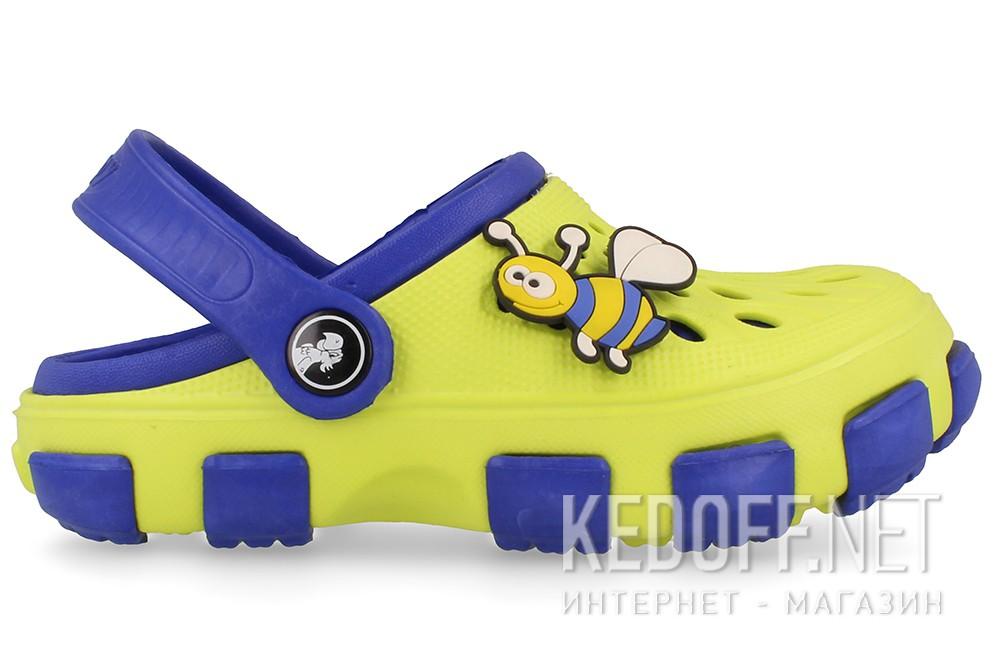 Сандалии Jose Amorales 116124 унисекс   (жёлтый/синий) купить Украина