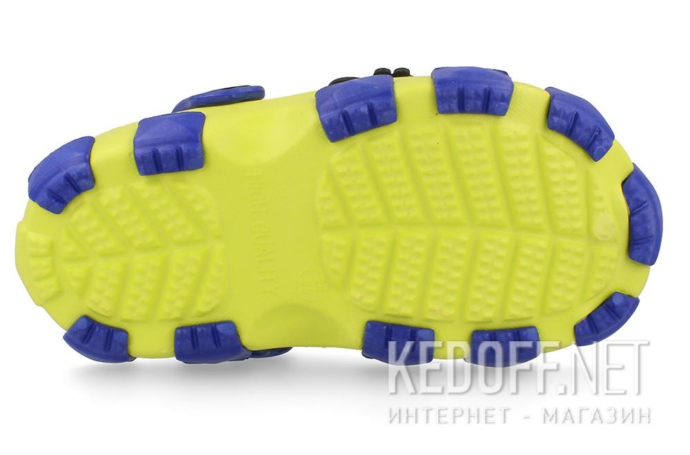 Оригинальные Сандалии Jose Amorales 116124 унисекс   (жёлтый/синий)