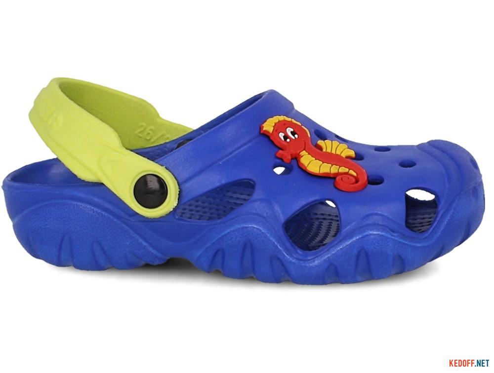Детские кроксы Jose Amorales 117071   (синий) купить Украина